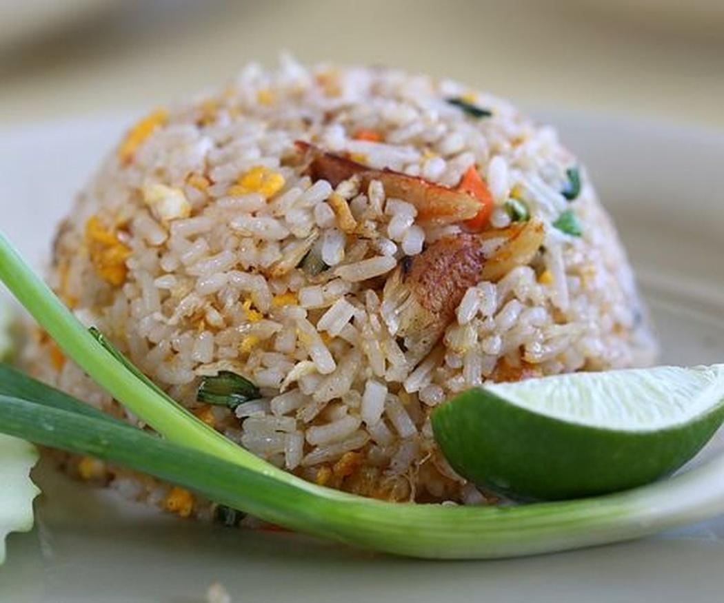 El origen del arroz tres delicias