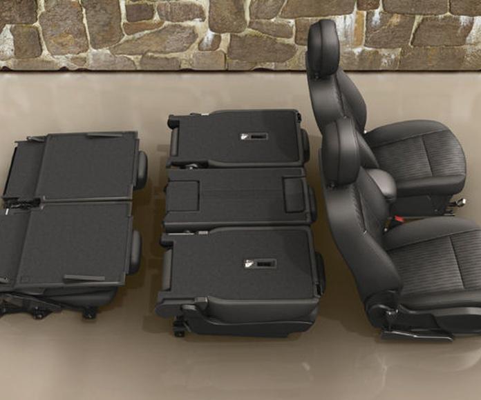 Extraordinaria flexibilidad Flex7® Opel Zafira Tourer