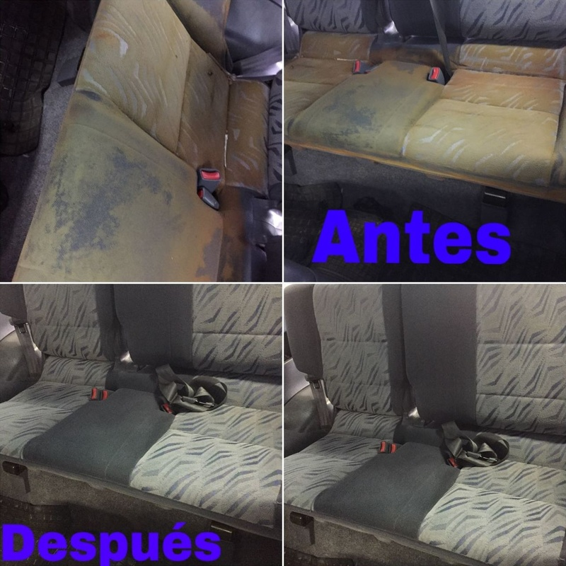 Limpieza de tapicerías : Servicios de Centro Auto Dahsys