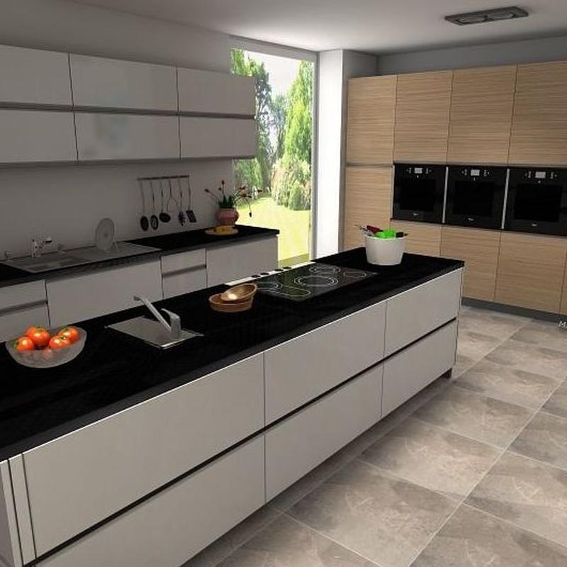 Diseño 3D: Catálogo de Cocinas Castilla