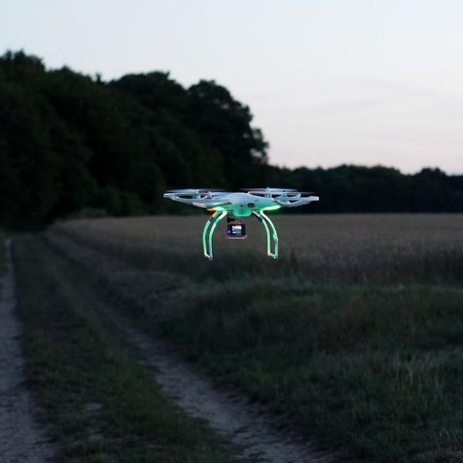 Los drones en el estudio del suelo