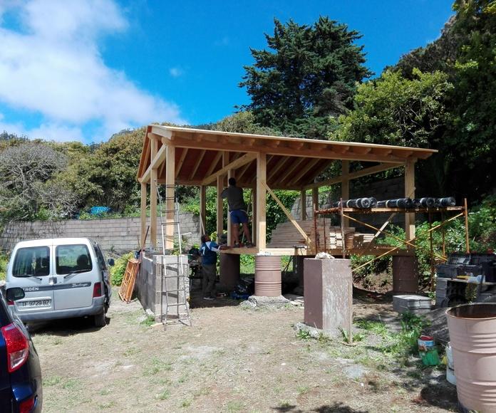 Montaje Cabaña Madera