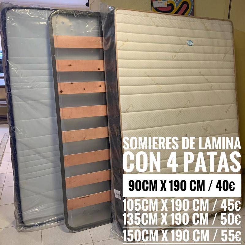 Somiers de lámina: Servicios y productos de Remar Castellón