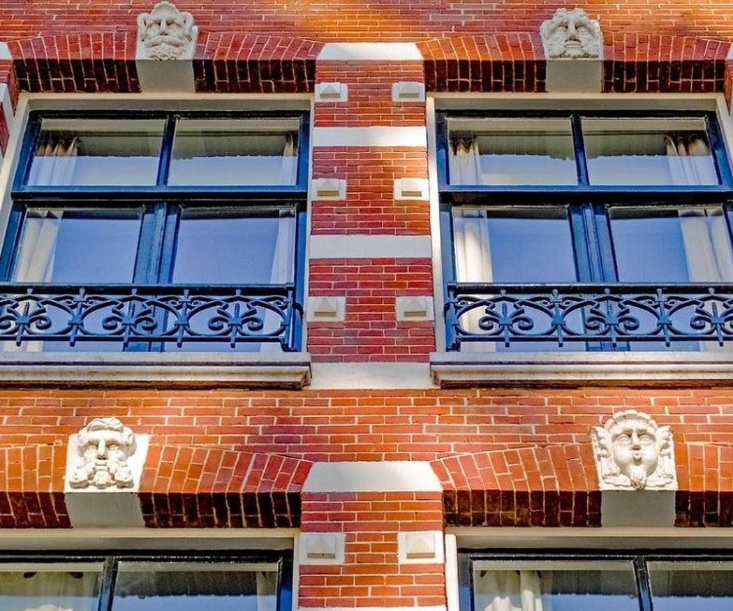 Las fachadas de ladrillo