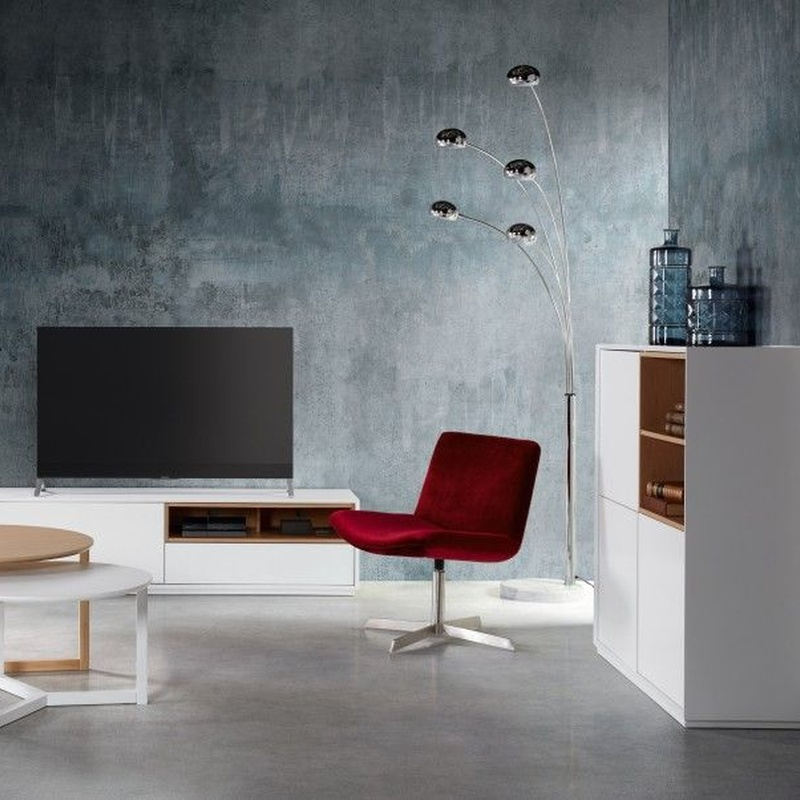 Mueble tv modelo White - Camino a Casa