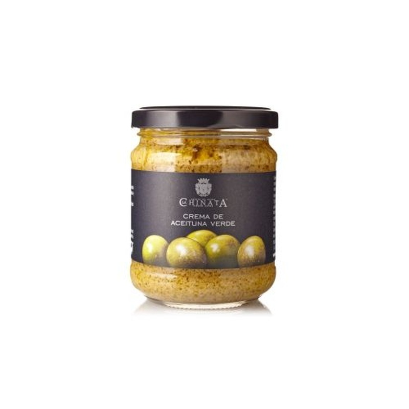 Crema de aceitunas verdes: Selección de productos de Jamonería Pata Negra