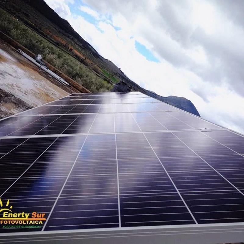 Fotovoltáica conexión a red y aislada: Servicios de Enerty Sur Fotovoltaica