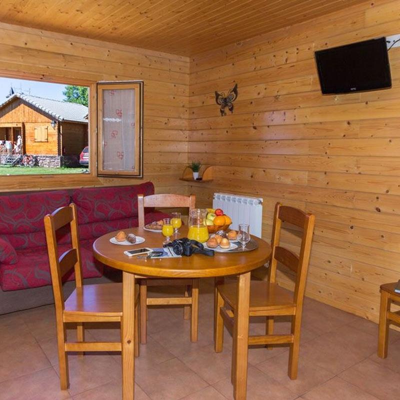 Bungalows: Nuestros alojamientos de Camping Laspaúles