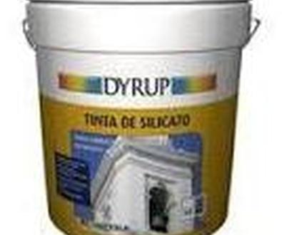 PINTURA AL SILICATO DYRUP, Revestimiento de fachadas mineral.