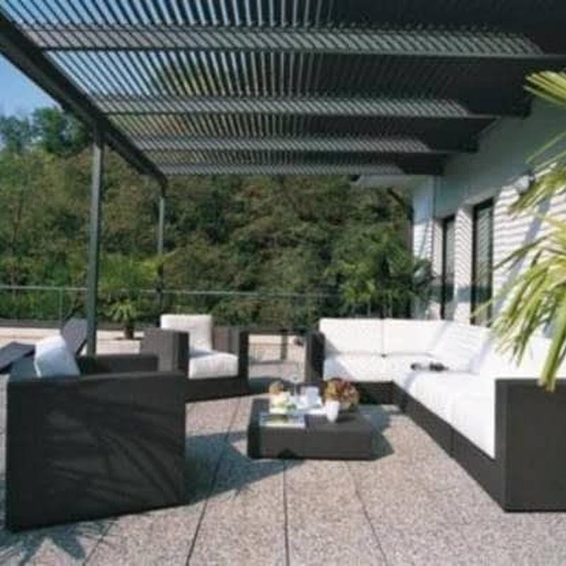 Estructuras exteriores: Productos y servicios  de Metalls Llançà