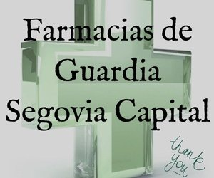 FARMACIA DE GUARDIA SEGOVIA CAPITAL 2018