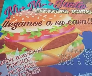 Bares de tapas Almería | Hamburguesería Ni+ Ni- = Justo