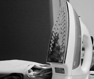 Servicio de lavado y planchado de ropa