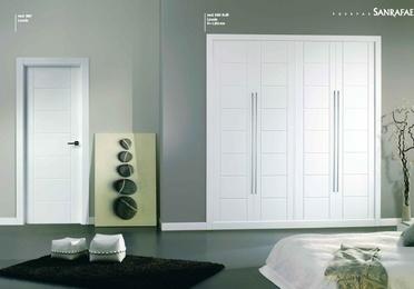 Puertas lacadas, madera barnizada, cristal ...