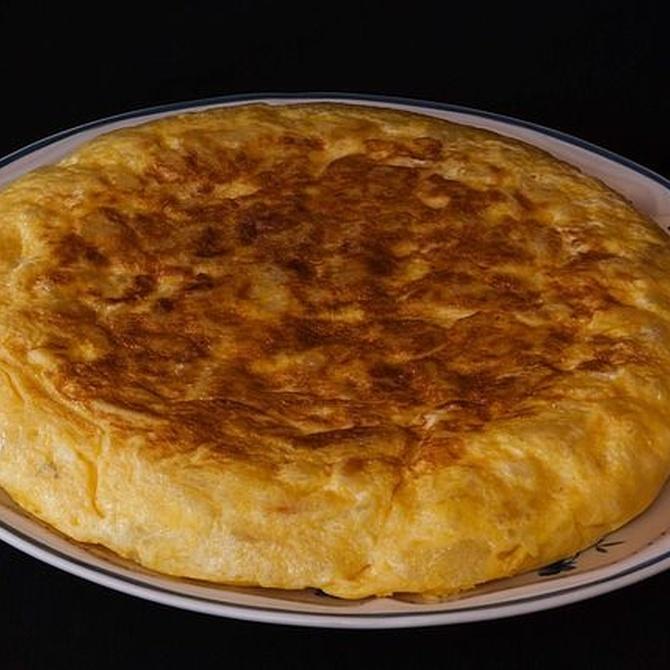 Nada mejor que almorzar con un buen 'pintxo' de tortilla
