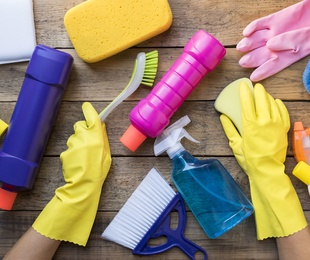 Productos de limpieza de hostelería
