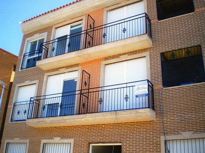 Barandillas de balcones .