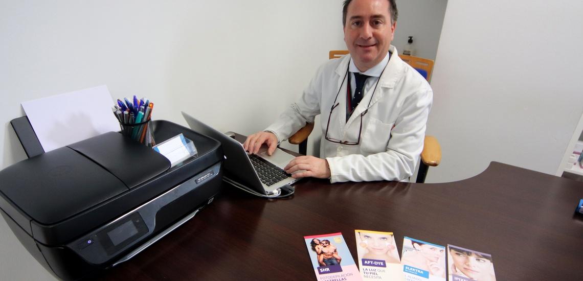 Consulta de Dr. Fabián Mirón: fotodepilación médica en Badajoz con la mejor atención
