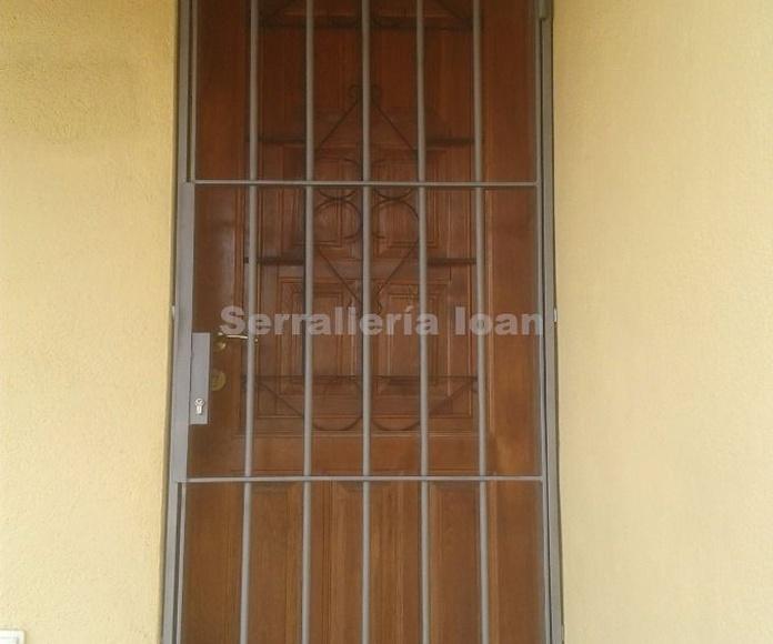Rejas (puertas): Productos y servicios de Serrallería Solé