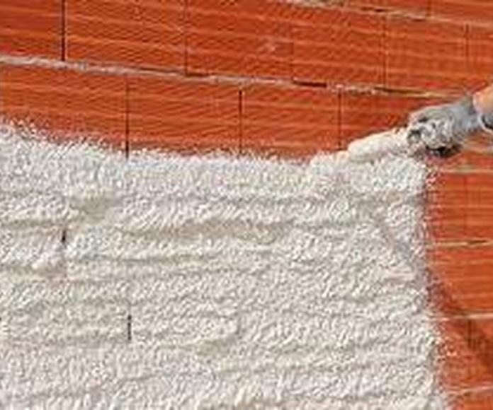 Aislante térmico de mortero Santander-Torrelavega