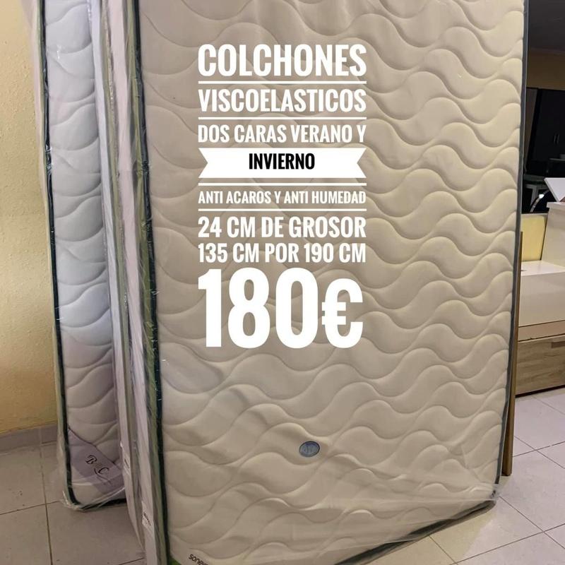 Colchones viscoelasticos 135 x 190 cm: Servicios y productos de Remar Castellón