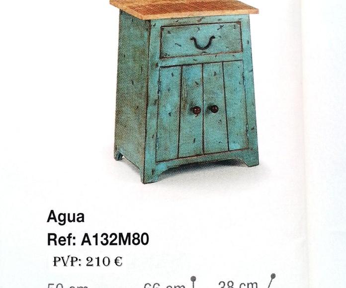 Colección Back in time -Mesilla madera