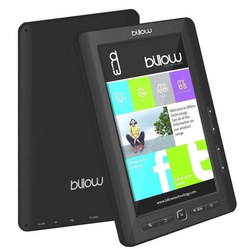 """Billow E2TB Color Book reader 7"""" 4GB Negro: Productos y Servicios de Stylepc"""