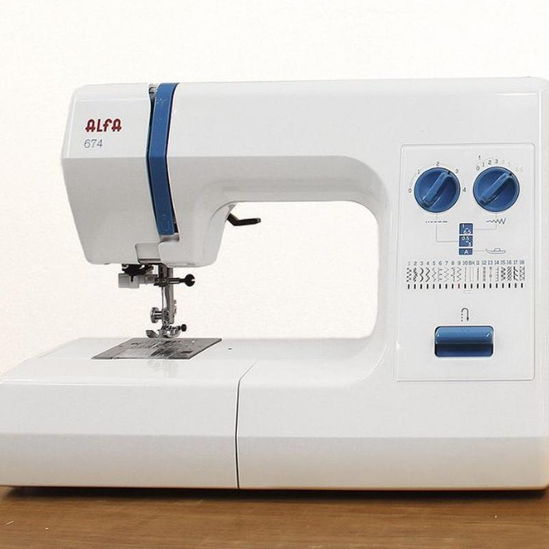 Alfa 674: Productos de Maquinas de Coser - Servicio técnico y repuestos