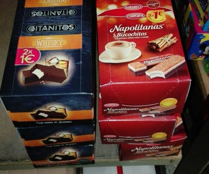 Galletas y bollos: Productos   de Candy Five, S.L.