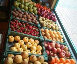 Frutas de cultivos ecológicos