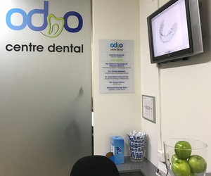 Clínica dental en Barcelona Recepció