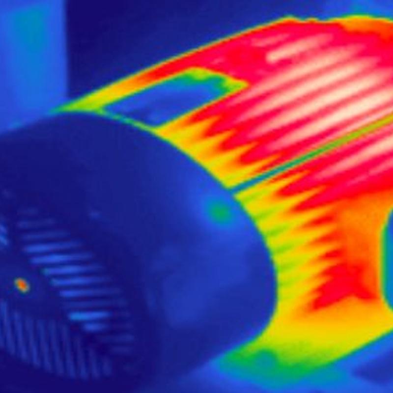 Ingeniería termográfica: Servicios de Kayros Ingeniería