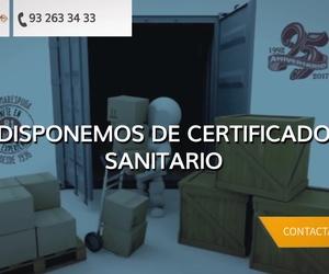 Carga y descarga de contenedores - Recinto aduanero, almacén general de depósito