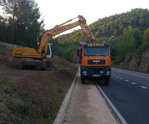 Construcción y mantenimiento de caminos, pistas forestales y carreteras