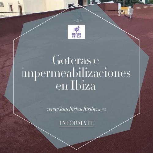Mantenimiento de cubiertas y tejados Ibiza | Laachiri Bachir Ibiza