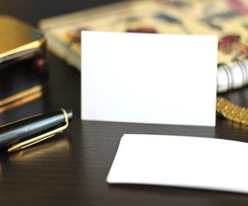 Las tarjetas de visita, una gran inversión