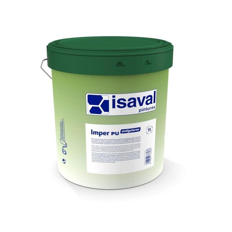 IMPER PU `de ISAVAL en almacén de pinturas en ciudad lineal.
