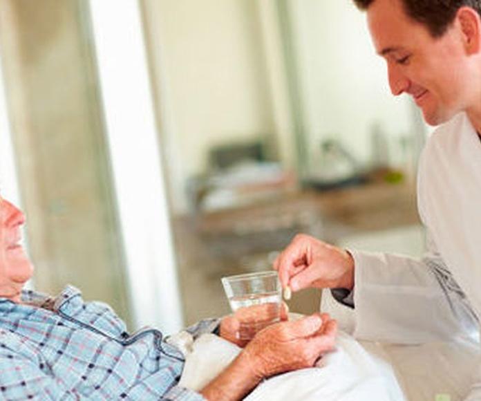 Servicios médicos: Servicios de Residencia Santa Bárbara del Hórreo