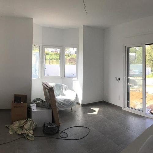 Reforma de salón de vivienda en Málaga