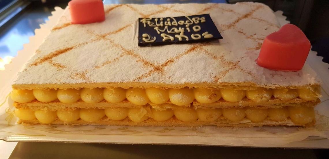 Cafetería y pastelería en Getafe en la que encargar tartas totalmente personalizadas