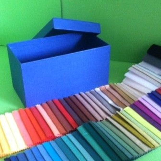 Cajas de cartón para organizar tu armario