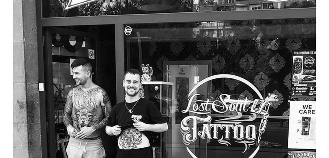 Estudio de tatuajes con estilo Old School en Hospitalet de Llobregat