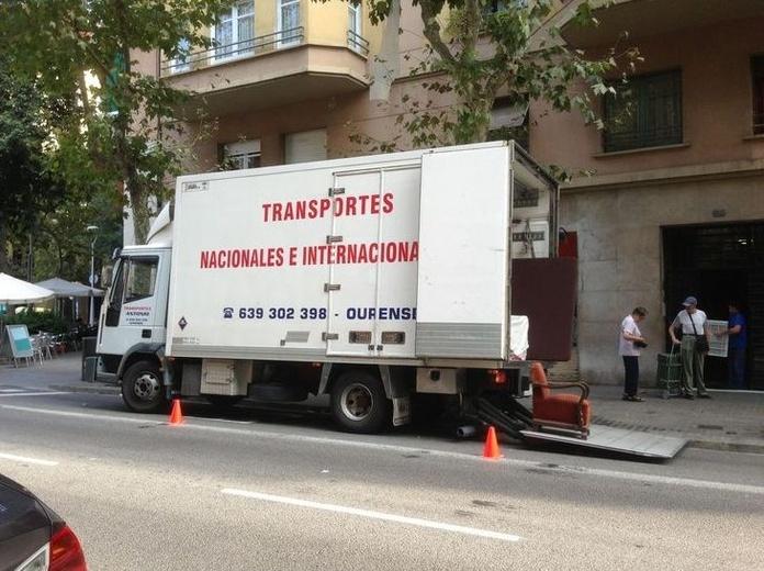 Mudanzas: Catálogo de Transportes y Mudanzas Antonio