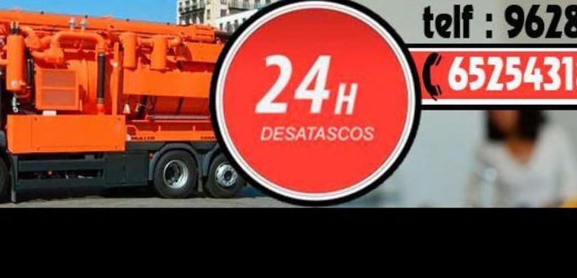 Empresas de desatascos 24 horas en Gandía