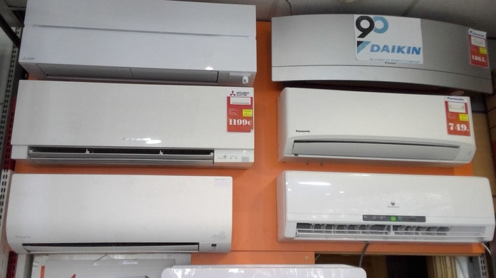 oferta de aire acondicionado en San Blas
