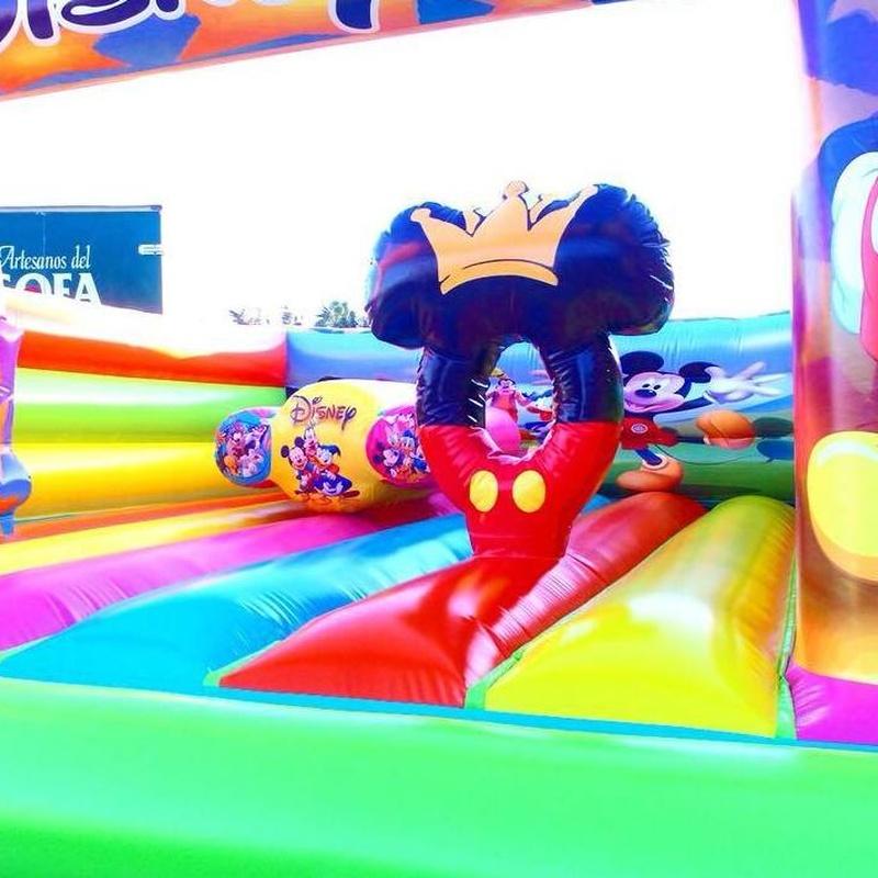 Castillo hinchable plataforma 7: Catálogo de Hinchables Happy Jump
