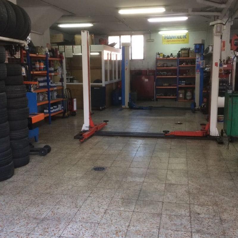 Neumáticos: Servicios de Taller Motor 94 Arroyomolinos