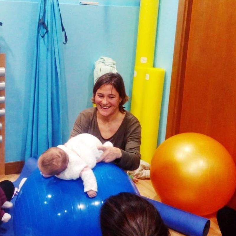 Ejercicios con bebe getxo