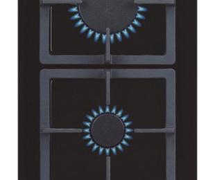 Placa cristal Gas CATA LCI 302 BK