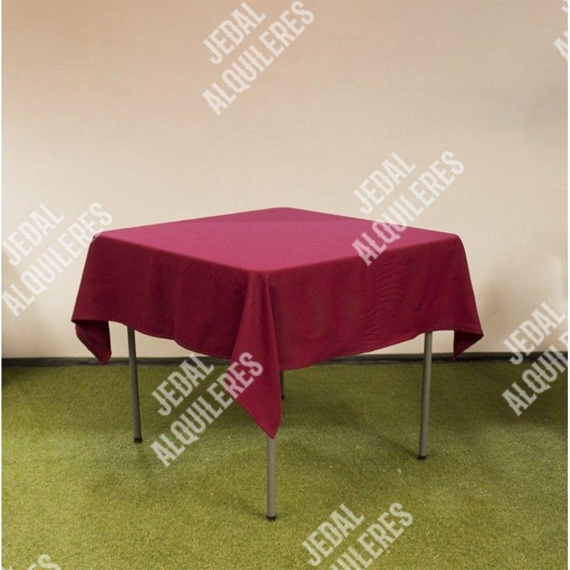 Mesa cuadrada 87X87 cm: Catálogo de Jedal Alquileres